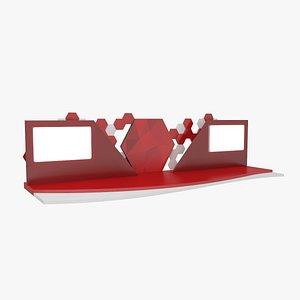Stage V1 3D model