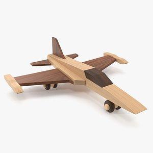 toy plane 3D model