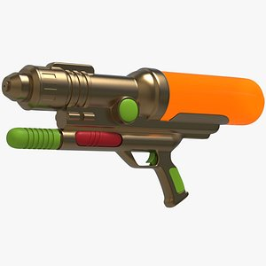 Water Gun Blaster2 model