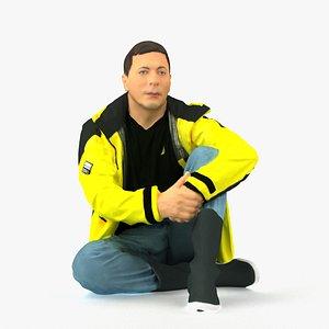 3D scanned realistic model