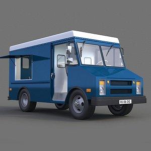 Step Van 3D model