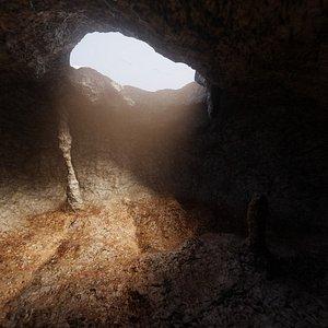 3D model cave
