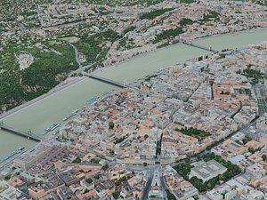 3D budapest city model