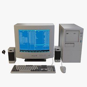 3D old computer model