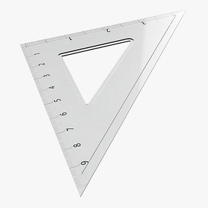 square ruler tool model
