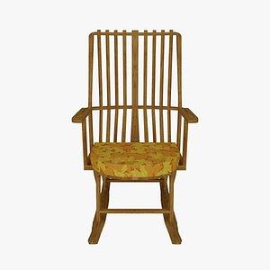 rocking chair 3D model