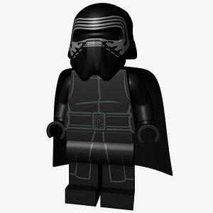 Lego Kylo Ren 3D model