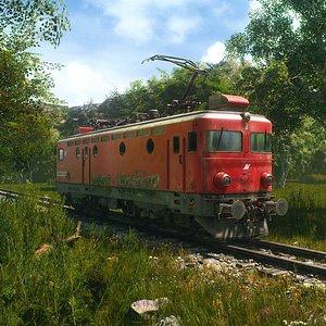 Electriclocomotive-model441-316 model