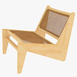 kangaroo jeanneret cassina bench 3D model
