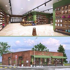 Realistic Pet Shop 2 3D model