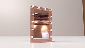3D makeup artist mirror