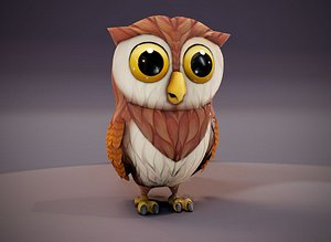 owl animations 3D