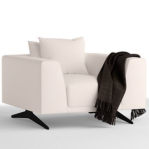 3D model Eichholtz Endless lounge chair