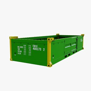 20 height container model