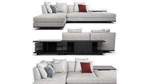 poltrona frau sofa 3D
