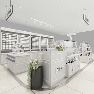 3D Jewelry Boutique model