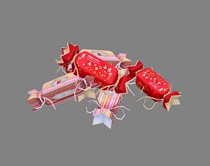 3D Cartoon Wedding Candy model