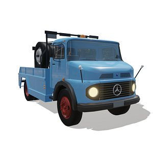 3D caminhão mercedes benz 1113 model