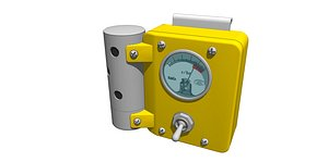 radiation dosimeter 3D