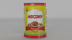 3D model Cooking Oil