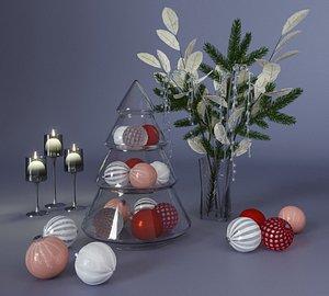 3D decoration table christmas