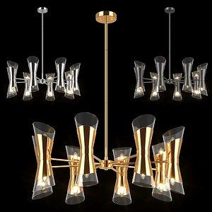 81716x Strato Lightstar chandelier 3D model