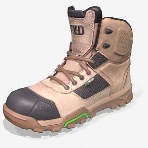 fxd work boot 3D model