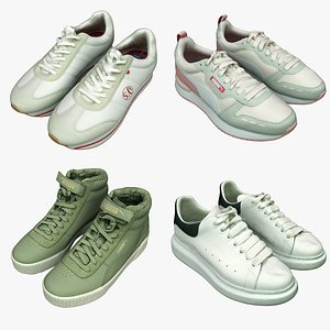 Shoe Collection 22 Sneakers 3D model