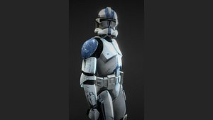 Clone trooper Phase 2 model