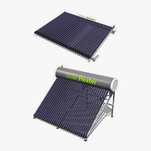 3D Solar Water Heaters Collection