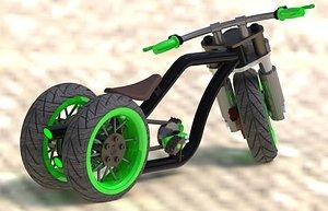 3D wheel bicycle 1-10