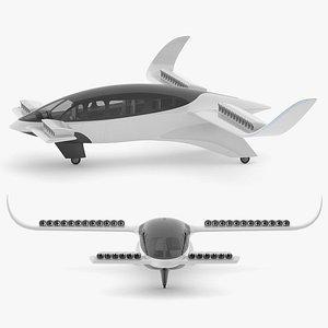 Lilium Jet Flying Taxi 3D model