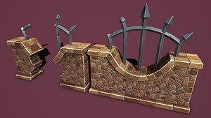 Fantasy wall 3 3D