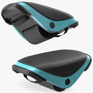 Electric Drift Roller Skates 3D model