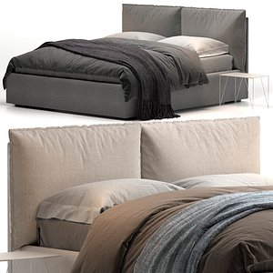 3D Henry Felis bed