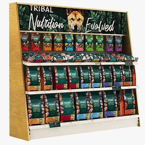 3D Pet Shop - Pet Food Tribal model