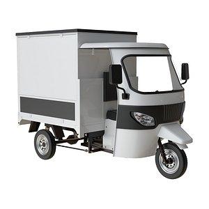 wheeler food truck 3D model