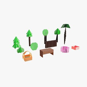 Origami Pack 3D