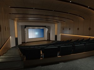3D model Conference Hall
