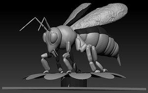 Bee Stl 3D model