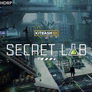 Props Secret Labs HDRP 3D