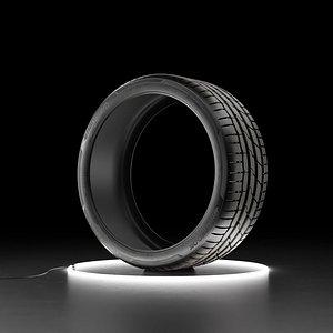 Car tire Hankook Ventus S1 evo3 3D model
