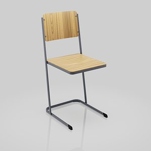 chair wood wooden model