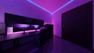 bedroom photorealistic 3D model