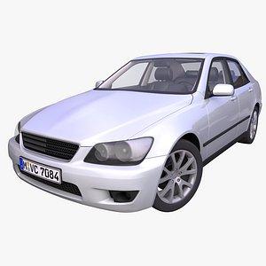 Generic Sedan car 3D model