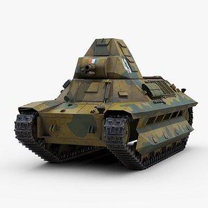 FCM 36 Tank 3D