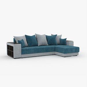 3D modern corner sofa model