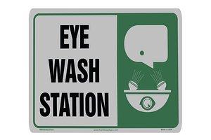 3D Eye Wash sticker model