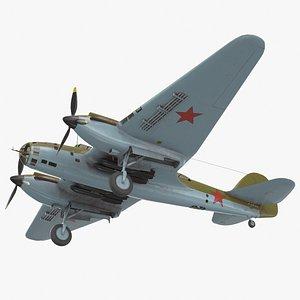 ar-2 dive bomber 3D model