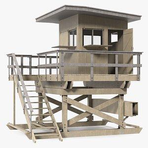 Lifeguard House model